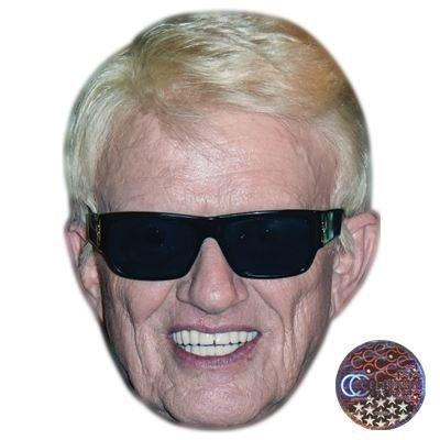 Celebrity Cutouts Heino Maske aus - Kostüm Mit Karton
