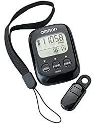 Omron Walking Style Portable Compact Design IV Pedometer BLK
