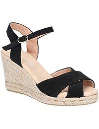 Zapatos Para Amazon Sandalias esSasha 38 Mujer De Vestir TclFK1J