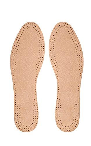 Kaps Schuheinlagen, Einlegesohlen aus Leder mit Leather Carbon - 42 (Schuheinlagen Herren)