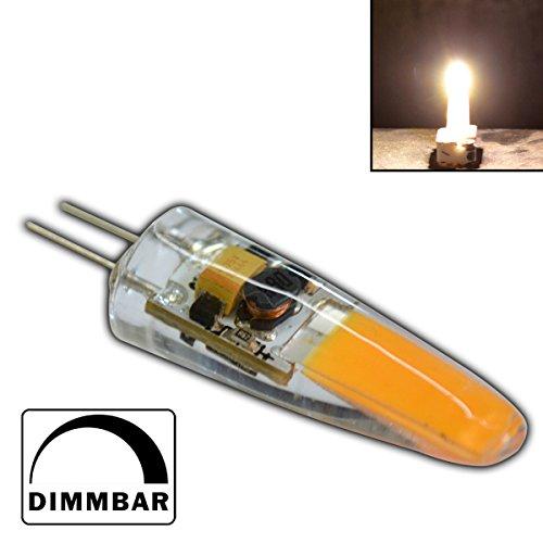 G4 mini LED 2 Watt 12V AC/DC warmweiß aus Silikon (Silica Gel) Lampe Leuchte Leuchtmittel dimmbar