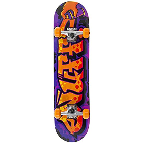 Enuff Graffiti II Mini Complete Skateboard - Orange