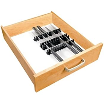 messerhalter 4er set f r schubladen messerblock messer aufbewahrung k che haushalt. Black Bedroom Furniture Sets. Home Design Ideas