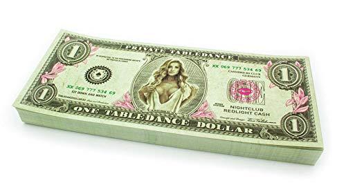 Cashbricks 100 x $1 Table Dance Dollar (Table Dance Kostüm)