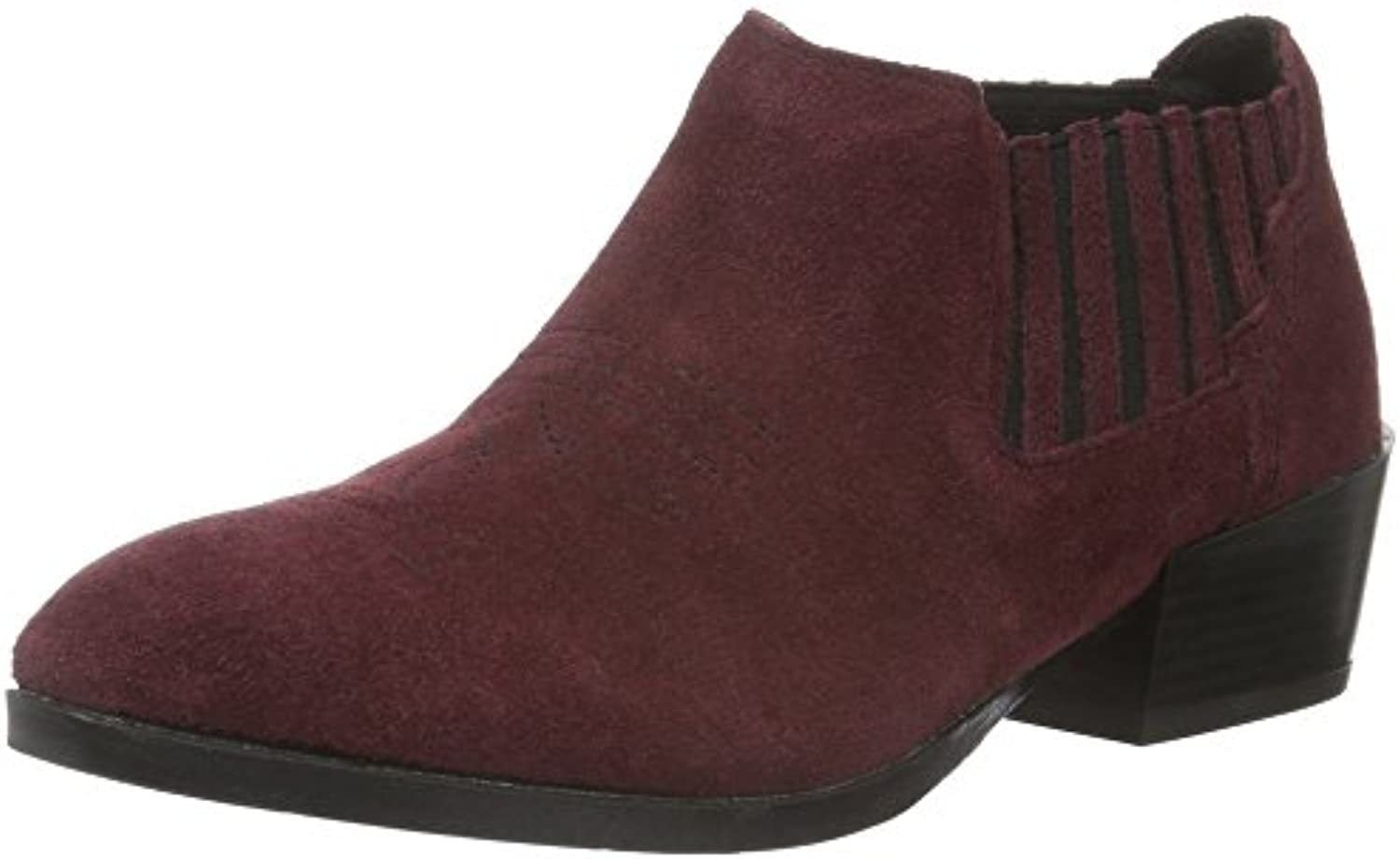 VERO MODA Damen Vmwestern Leather Low Boot Chelsea