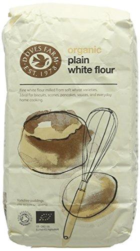 Doves Farm Organic Plain White Flour, 1kg Test