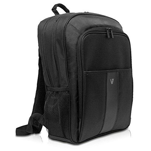 onal II Business wetterbeständiges 420 Nylon Rucksack mit Kabeldurchführung für Notebook 43,2 cm (17 Zoll)/Tablet 25,7 cm (10,1 Zoll) schwarz ()