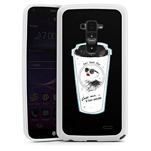 Flex-becher (DeinDesign LG G Flex Silikon Hülle Case Schutzhülle Coffee Kaffee Becher)
