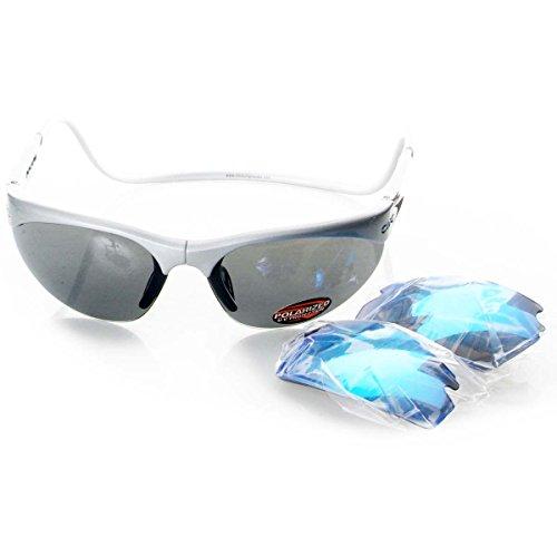 e8ec1bbf05 Clic Cierre magnético frontal Connect elegante gafas de sol con lentes  intercambiables, marco plateado/