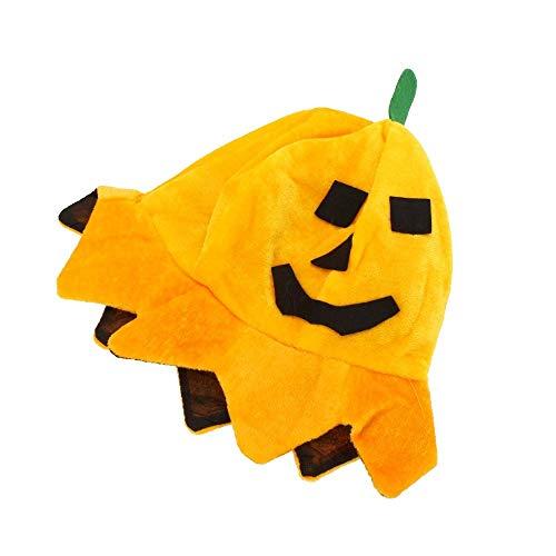 lloween Kürbis Katze Hut, Katze Cosplay Kostüm Cap Kitty Cat Kragen Kostüm für Party, Rollenspiele, Kostümzubehör Maske ()