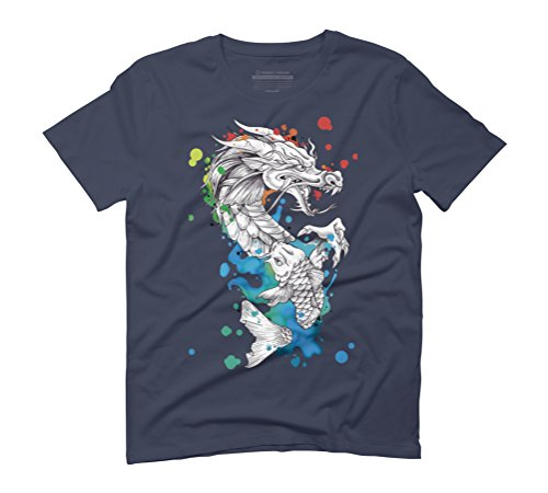 metamorphosis Men's Graphic T-Shirt - Design By Humans Navy
