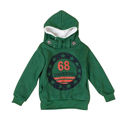 K-youth® Para 3-7 años Niños Ropa De Invierno Sudadera con capucha 9ce5eb41c3e