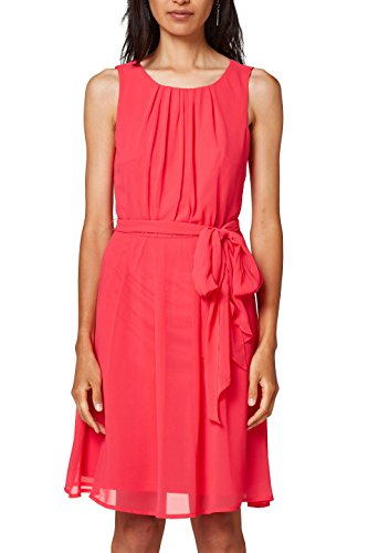 ESPRIT Collection Damen Partykleid 028EO1E018, Rosa (Pink Fuchsia 660), 34