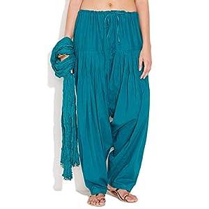 Sri Belha Fashions Women's Regular Fit Patiala Pant