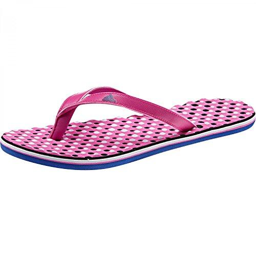 adidas Eezay Dots W, Ciabatte Donna Rosa (Shock Pink S16/collegiate Royal/aero Blue S18)