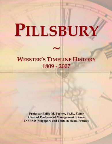 pillsbury-websters-timeline-history-1809-2007