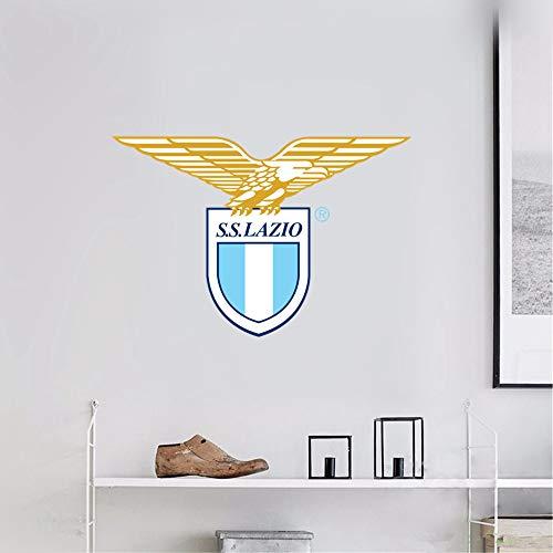 Wandaufkleber 3D Wandtattoo Lazio Sport Fußball Team Logo Anmelden -