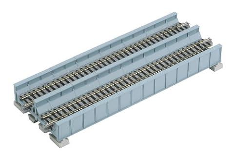 Kato 20-455 Double Track Plate Bridge 186mm Light Blue