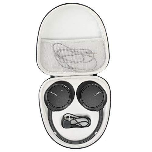 Khanka Dur Cas étui de Voyage Housse Porter pour Sony WH-CH700N/WH-CH500 Casque sans Fil Bluetooth