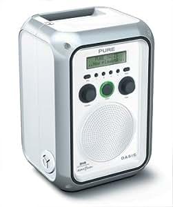Pure Digital Oasis VL-60918  Rechargable Weatherproof Dab Radio