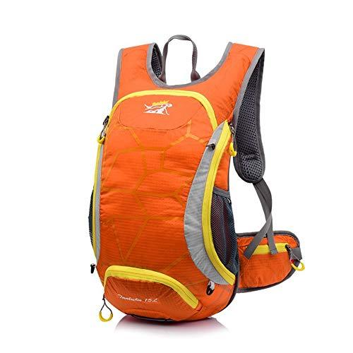 TnXan15L Outdoor Sports Bicycle Backpack Casual Backpack Cycling Hydration Packs Ladies Men 2L Water Bag Waterproof Mountain Bike Backpack Running Bag