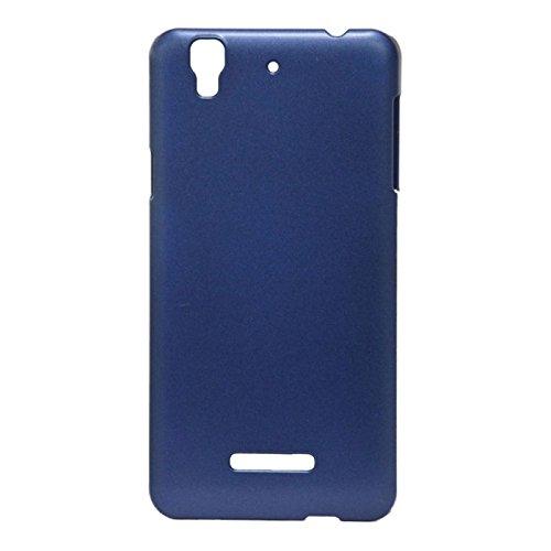 Pudini Slim Series Case Cover for Micormax Yu Yureka - Free Screenguard - Blue