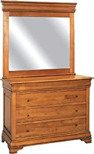 Commode 4 tiroirs merisier massif