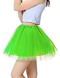 Women Organza Tutu Skirt Pricess Fairy Dress