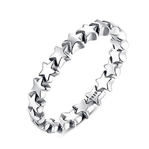 Shysnow Sterne Ring, Vier Größen, Vier Optionen