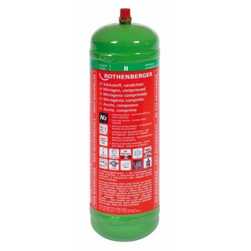 Preisvergleich Produktbild Stickstoff-Flasche 1kg,  950cm3,  110bar