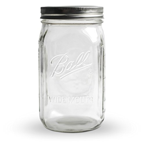 Ball Mason Jar Wide Mouth ● Einmachglas ● 945 ml ● 32 oz ● KoRo Drogerie