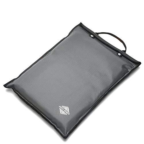 Aqua Quest Storm Laptop Tasche - 100{da8352e186b7f289740a0b2a9ba1ebc9246e62eddbe0e0b3cca7fc120eb3320f} Wasserdicht - 13 inch - Silbergrau