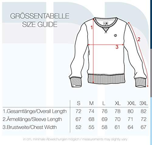 !Solid Benn O-Neck Herren Sweatshirt Pullover Pulli mit Rundhalsausschnitt, Größe:M, Farbe:Insignia Blue Melange (8991) - 5