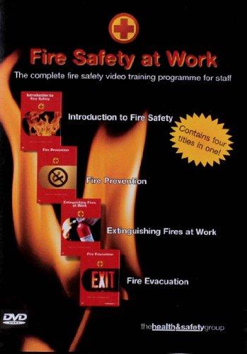 Fire Safety At Work [DVD] [Edizione: Regno Unito]