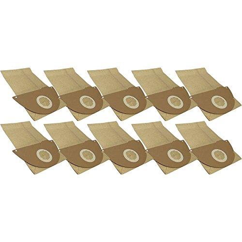 10 Staubsaugerbeutel aus hochfestem Papier passend für Kärcher 4000 Plus