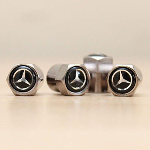 Mercedes Black Air Valve Dust Ca...