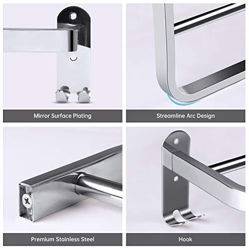 Zoom IMG-3 porta asciugamani bagno da parete