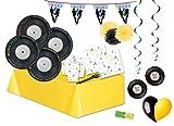 Kit n54 Coordinato Festa Music Party Disco Anni '70 addobbi Musica