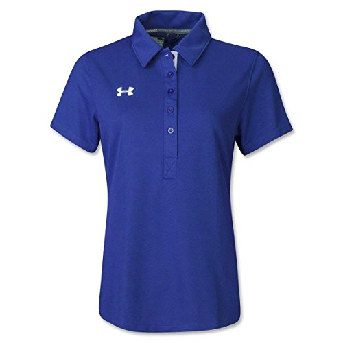 Under Armour Damen Trainer Softball Polo, Damen, königsblau, X-Small