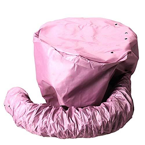 Mimiga Trockenhauben für Haare Sicherheits Portable Bonnet Attachment für Haartrockner Helm Kappe Haartrockner Barbershop Haarpflege Trocknen Tiefkonditionierungsmaske, Zufällige Farbe - Soft Bonnet Hair Dryer