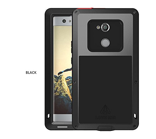 a012684b3f LOVE MEI Sony Xperia XA2 Métal Étui, Sports de Plein air de Protection  Coque Métal