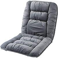 Preisvergleich für Kissen Stuhlkissen Sitzkissen Home Esszimmerstuhl Stück Kissen Atmungsaktiv Dickes Anti-Rutsch-Autositzkissen grau