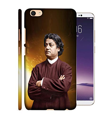 SAMRNG Amazing Designer Back Case Cover for Vivo Y 69 with The Unique Design of vivekanand backcoversWith The Beautiful White Colour
