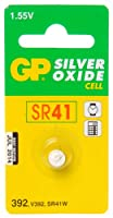 GP Batteries Silver Oxide Button 392 Button Battery