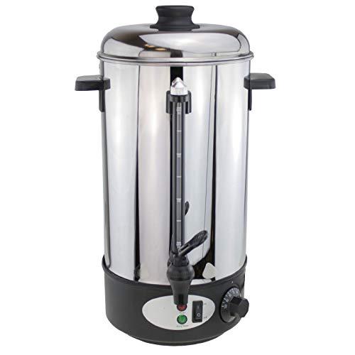 8 Liter Glühweinautomat Teekocher Heißwasser Spender Kaffeeautomat Glühweinkocher Glühweintopf Glühweinkessel