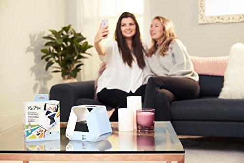 KiiPix Stampante fotografica per Smartphone, Blu