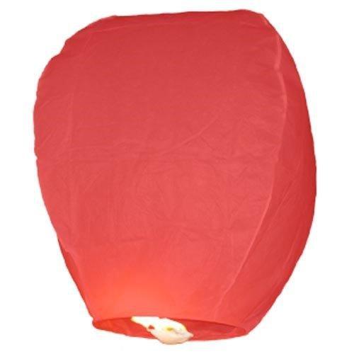 Farolillos voladores 10piezas rojas sky Lantern