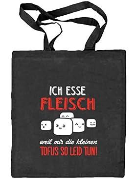 Shirtstreet24, Kleine Tofus, Natur Stoffbeutel Jute Tasche (ONE SIZE)