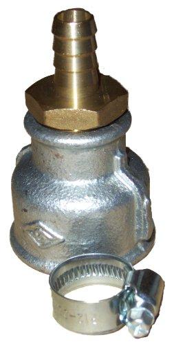 Spülmuffe für Brunnenbau - Brunnenbohrerät Gartenpumpe Erdbohrer Brunnenfilter