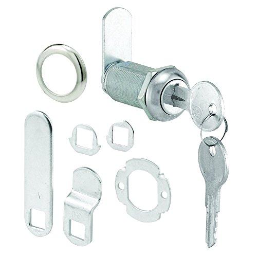 prime-line Produkte U 9950Schublade & Schrank Lock, 1-3/8in, Edelstahl Gesicht, 1in. Max. PANEL -